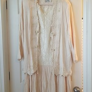 Vintage Lace Dress Set GORGEOUS